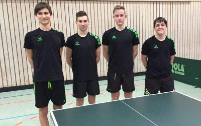 TT-Jugend wird Vizemeister in der 1. Bezirksliga Ost